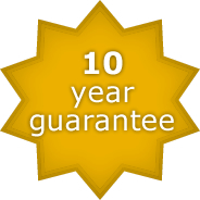 10 year guarantee on fibreglass swimming pool shape