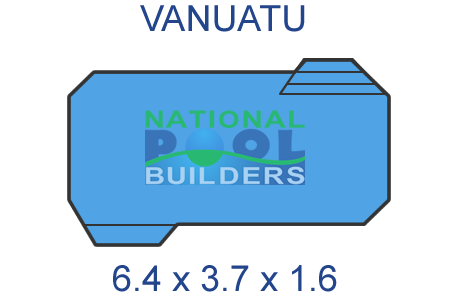 National Pool Builders Fibreglass Pool Shell - Cost-Effective Quality Swimming Pool